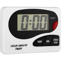 John Lewis and Partners Digital Kitchen Timer, White