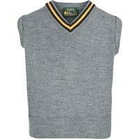 Keble Preparatory School Boys Slipover, Grey