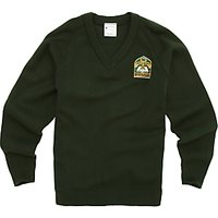 King Fahad Academy Unisex Pullover, Bottle Green