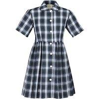 Girls School Summer Dress, Tartan