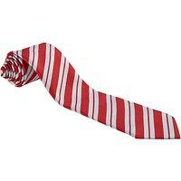 St Georges School, Hanover Square Unisex School Tie, Red/White