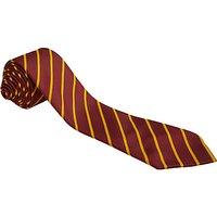 The Broxbourne School Boys Milton House Tie, Maroon/Gold