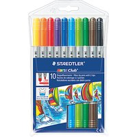 Staedtler Felt Tip Pens, Multi, Pack of 12