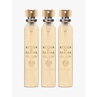 Acqua di Parma Iris Nobile Leather Purse Spray Refills, 3 x 20ml