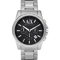 Armani Exchange Mens Chronograph Date Bracelet Strap Watch