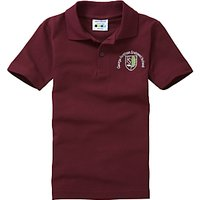 George Fentham Endowed School Unisex Polo Shirt, Maroon