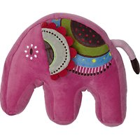 little home at John Lewis Abbey Elephant Plush Shaped Cushion