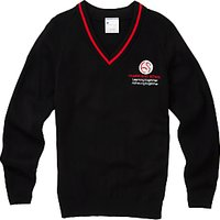 Hampstead School Unisex Acrylic Pullover, Black