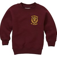 St Edwards RC Primary School Unisex Sweatshirt, Maroon