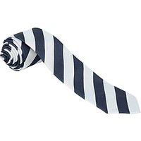School Boys Tie, Navy/Silver