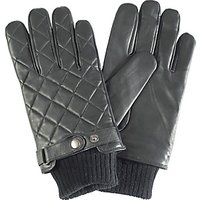 Barbour Quilted Leather Gloves
