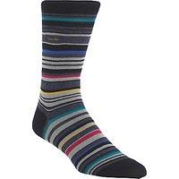 Calvin Klein Barcode Stripe Socks, One Size