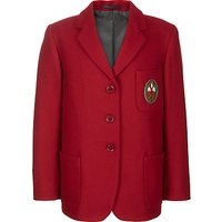Ashdell Preparatory School Girls Blazer, Red