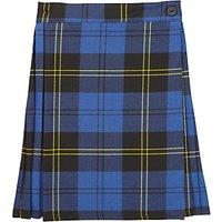 Girls School Tartan Junior Kilt, Blue/Multi
