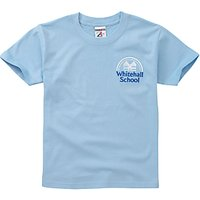 Whitehall School Unisex T-Shirt, Sky Blue