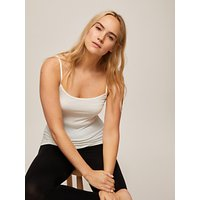 John Lewis and Partners Heat Generating Thermal Camisole, Ivory