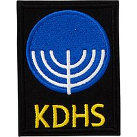 King David High School Negev House Unisex Blazer Badge, Multi