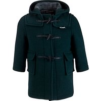 Gloverall School Duffle Coat, Green
