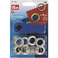 Prym Eyelets, 14mm, Pack of 10