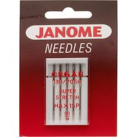 Janome Ball Point Sewing Machine Needles