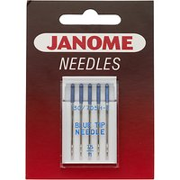 Janome Blue Tip Needles, Size 11, Pack of 5