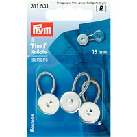 Prym Flexi Buttons, Pack of 3