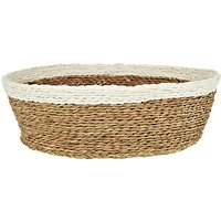 Gone Rural Woven Grass Bread Basket