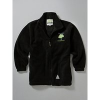 Whitefield School, an Academy Embroidered Fleece, Black