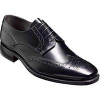 Barker Toddington Leather Brogue Shoes, Black