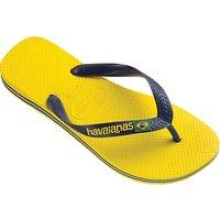 Havaianas Brasil Logo Flip Flops
