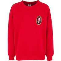 St Josephs College Prep School Sweatshirt, Red