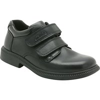Clarks Deaton Leather Shoes, Black
