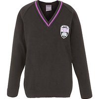 Gateacre School Pullover, Black