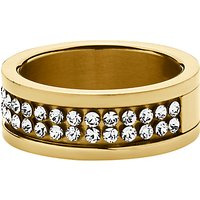 Dyrberg/Kern Fratianne Crystal Band Ring