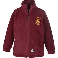 St Edwards RC Primary School Unisex Fleece, Maroon