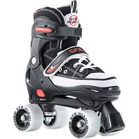 SFR Miami Childrens Quad Roller Skates, Black