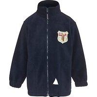 Hornsby House School Unisex Sports Fleece, Navy
