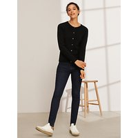 shop for John Lewis & Partners Cashmere Crew Neck Cardigan at Shopo