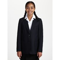 John Lewis and Partners Girls School Eco Blazer, Navy