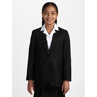 John Lewis Girls' School Eco Blazer, Black