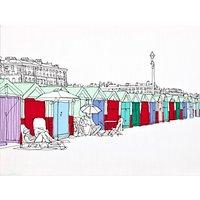 Gillian Bates - Beach Huts Bright