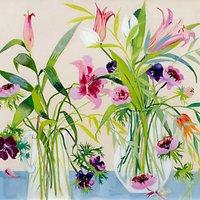 Annabel Fairfax - Jugs of Flowers