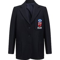 Aberdeen Grammar School Girls Blazer, Navy Blue