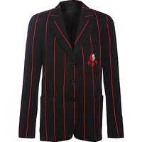Lady Margaret School Girls Blazer, Black/Red