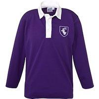 Daiglen School Long Sleeved Football Shirt, Purple