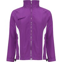 Daiglen School Unisex Tracksuit Top, Purple/White