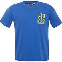 St Michael's Church of England Preparatory School Unisex T-Shirt, Royal Blue