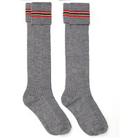 Forest Park Preparatory School Boys Socks, Twin Pack, Grey/Multi