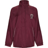 Great Ballard School Pre Prep Unisex Hooded Jacket, Maroon