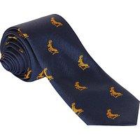 Colfe's School Preparatory Jaquard Tie, L45, Navy Blue